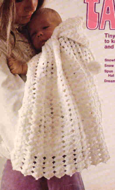 Snowflake Cape And Afghan